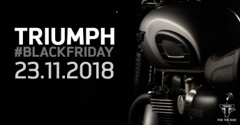 TRIUMPH BLACK FRIDAY 2018