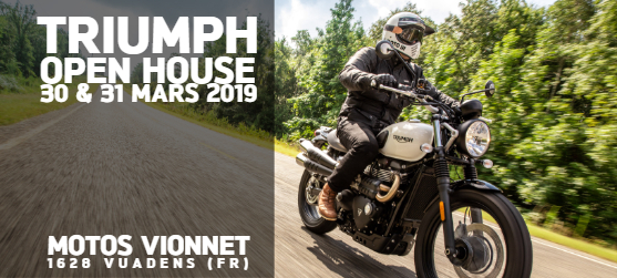 TRIUMPH OPEN HOUSE 2019
