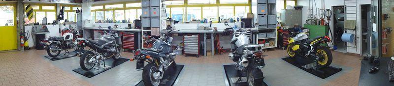 Panorama Atelier Triumph Motorcycles